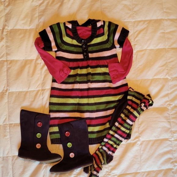 Sweater dress set!